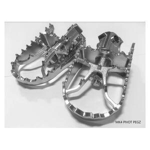 Pivot Pegz Mark 4 Foot Pegs Honda CR / XR / Transalp