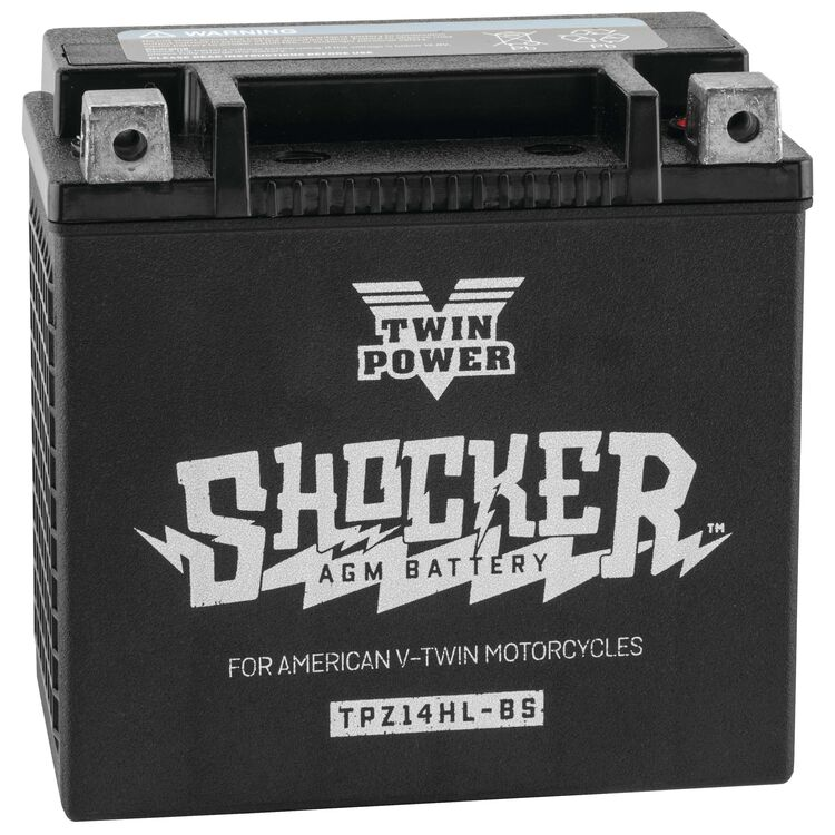Twin Power Shocker Battery For Harley XL / XG 2004-2021