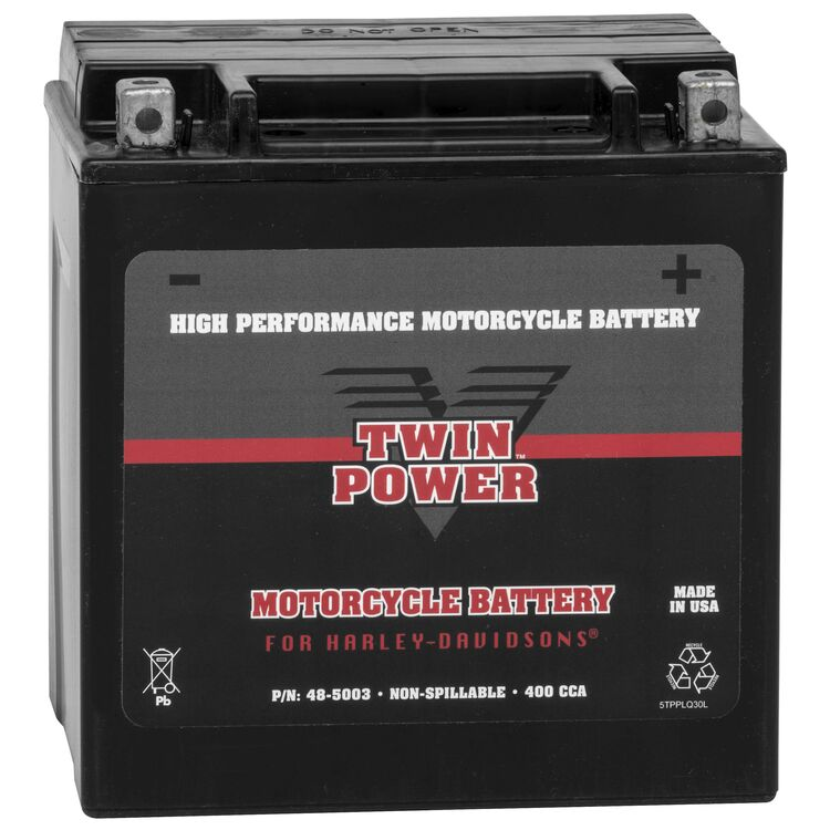 Twin Power High Performance Factory Activated AGM Battery For Harley Touring 1997-2021