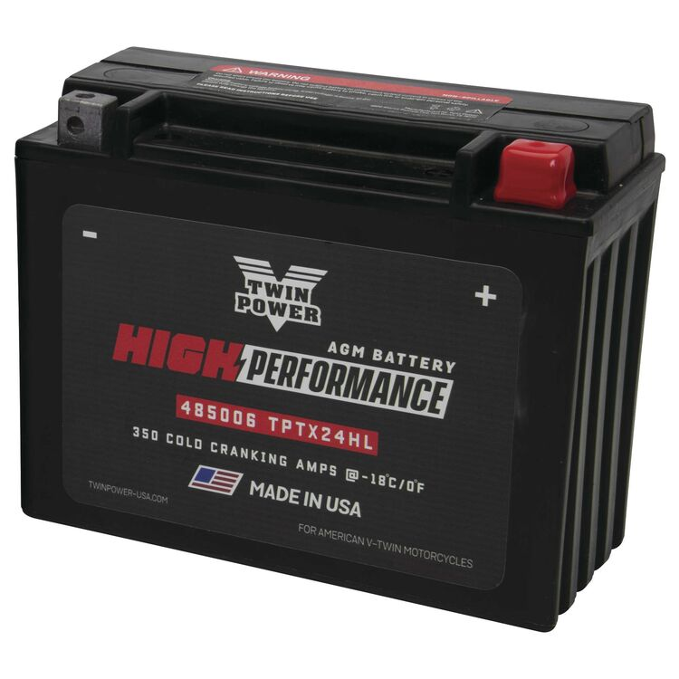 Twin Power High Performance Factory Activated AGM Battery For Harley Touring 1980-1996