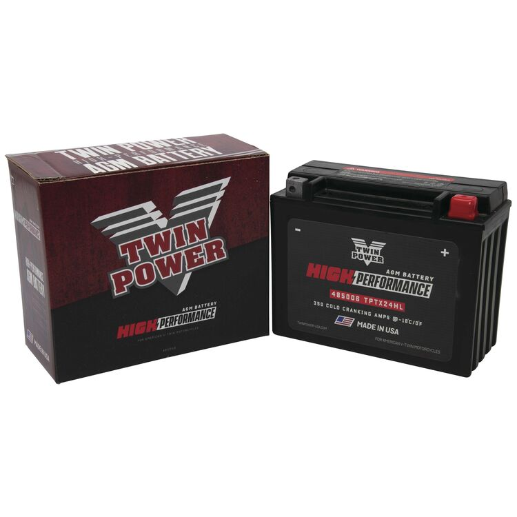 Twin Power High Performance Factory Activated AGM Battery For Harley