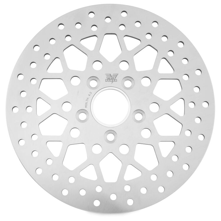 Twin Power Solid Mesh Rear Rotor For Harley 1984-2017