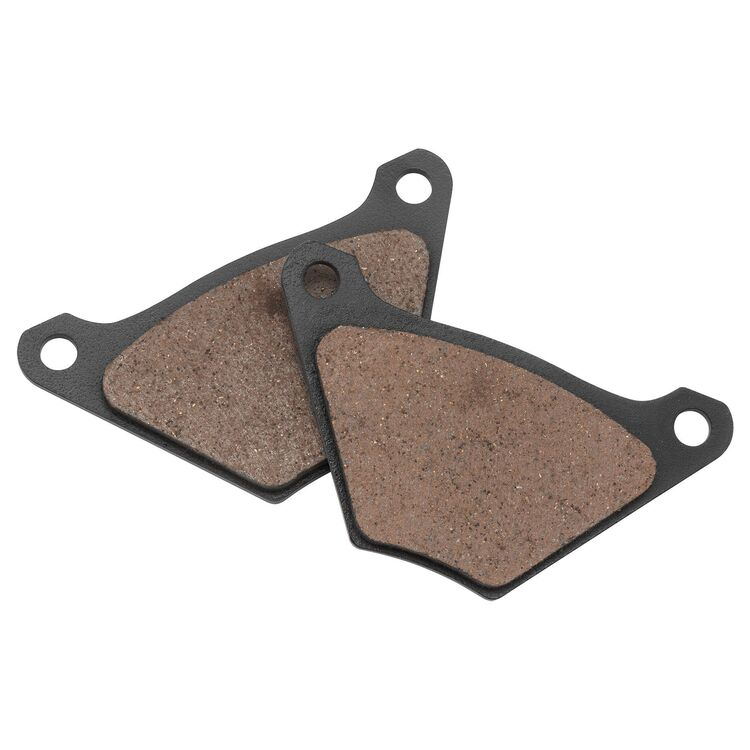 Twin Power Organic Front / Rear Brake Pads For Harley FL / FX 1972-1984