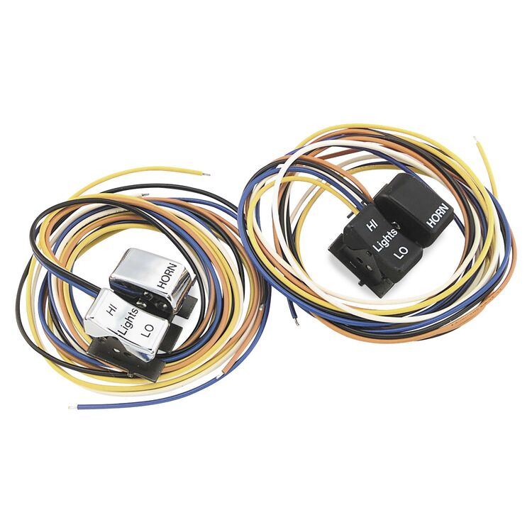 Twin Power Left Horn/Dimmer Switches For Harley 1982-1995