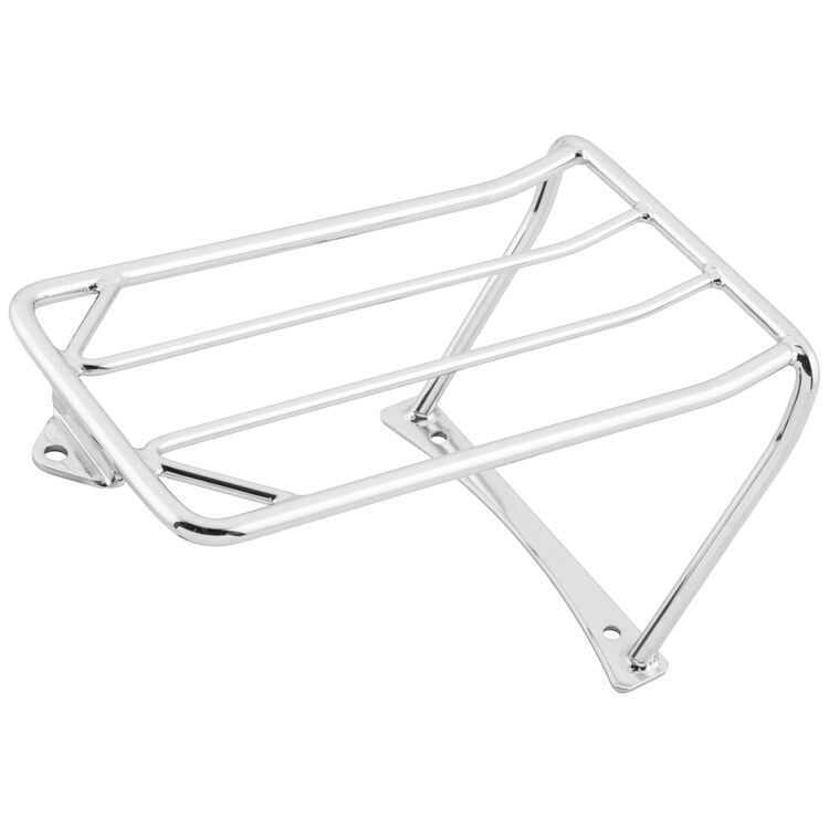 Biker's Choice 2-Up Seat Luggage Rack For Harley FXDF 2008-2013