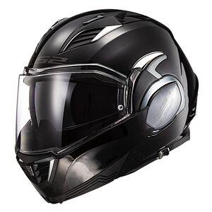 LS2 Valiant II Helmet Black / XL [Blemished - Very Good]