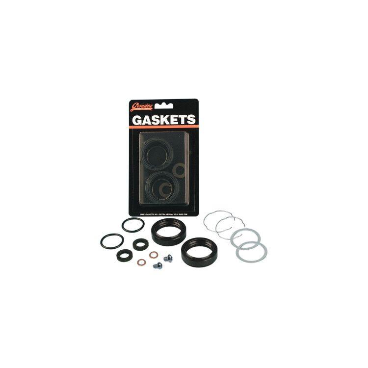 James Gasket Fork Seal Kit For Harley 1977-1983