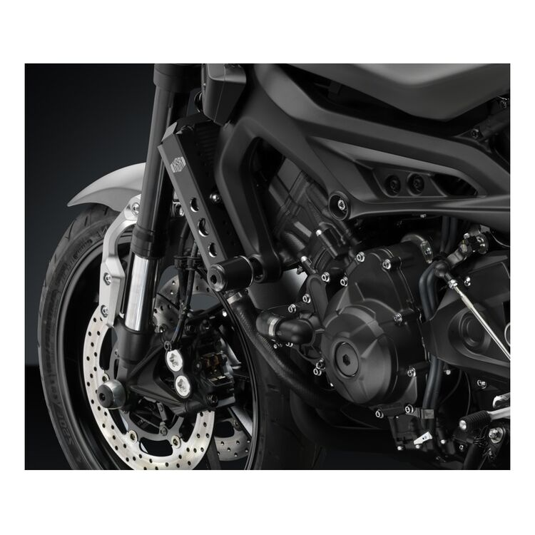 Rizoma B-Pro Frame Sliders Yamaha FZ-09 / XSR900 / FJ-09 Silver/Black [Open Box]