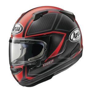 Arai Quantum-X Spine Helmet Black/Red / LG [Open Box]