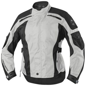 Firstgear Voyage Women's Jacket Silver/Black / LG [Blemished - Very Good]