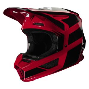 Fox Racing Youth V2 Hayl Helmet Red / Youth LG [Blemished - Very Good]