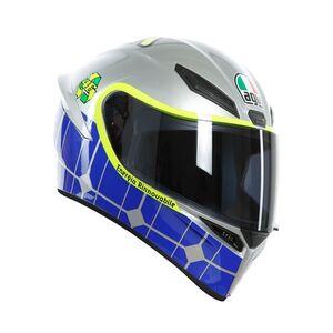 AGV K1 Mugello 2015 Helmet Blue/Hi-Viz / MS [Blemished - Very Good]