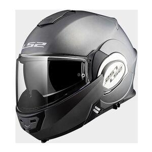 LS2 Valiant Helmet Matte Titanium / XL [Blemished - Very Good]