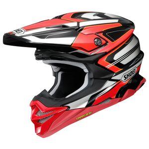 Shoei VFX-EVO Brayton Helmet Red/Black/White / XS [Blemished - Very Good]