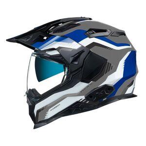 Nexx X.WED2 Columbus Helmet Blue/Black/Grey / XL [Open Box]