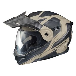 Scorpion EXO-AT950 Tucson Sand Helmet (SM) Black/Sand / LG [Open Box]