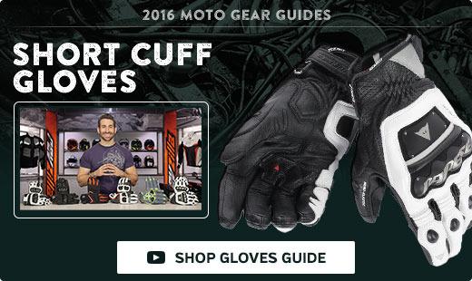 2016 Short Cuff Gloves Gear Guide
