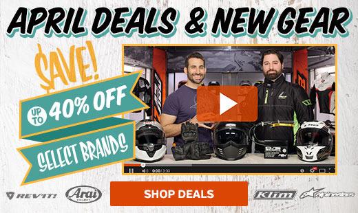 April 2016 Deals & New Gear