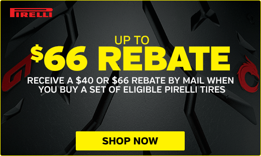 April - May Pirelli Rebate