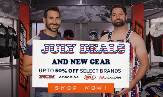 July Deals & New Gear