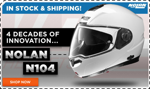 Nolan N104 Helmet In Stoc