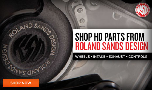 Shop Roland Sands Harley Parts
