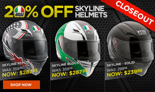 AGV Skyline Closeouts 520