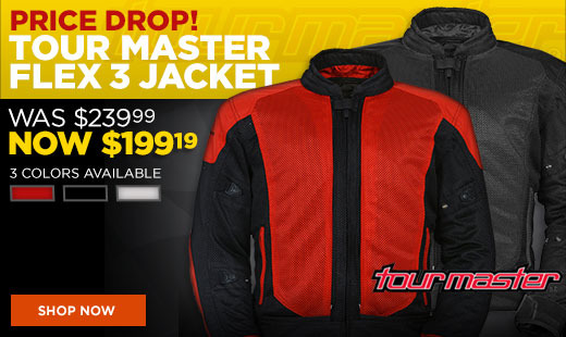 Tourmaster Flex 3 Price Drop 520