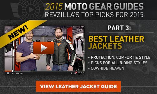 2015 Leather Jacket GG