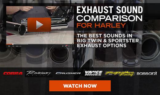 Harley Exhaust Comparison