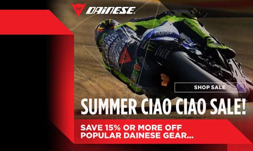 Dainese 2015 Summer Sale