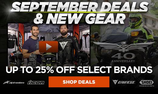 September 2015 Deals & New Gear