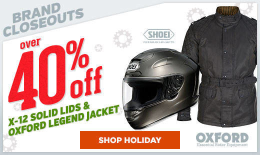 Shoei / Oxford Sale 2015