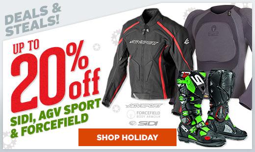 Sidi / AGV Sport / Forcefield Sale