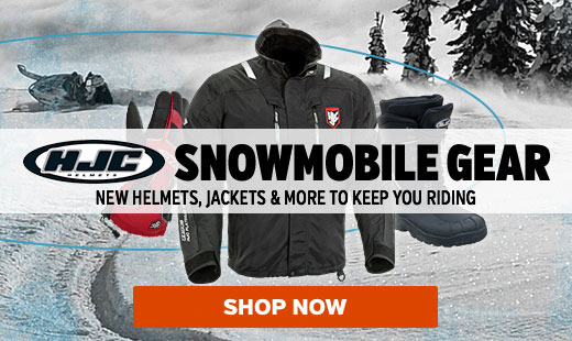 HJC Snowmobile Gear 2016
